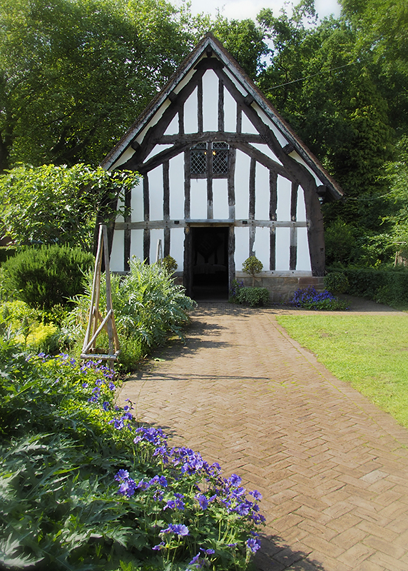 cruck-frame house, Selly Manor, Bournville, UK