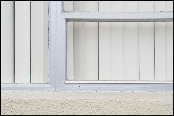 white on white window