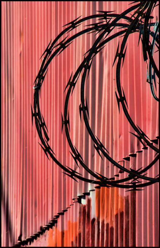 Circles on Red