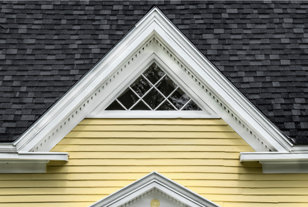 Yellow and Black Gable