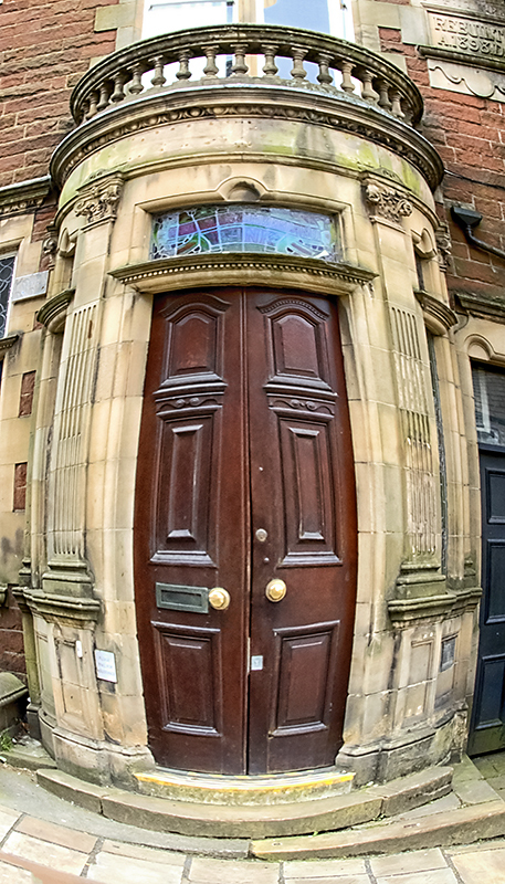 Bank Door, Alston, England