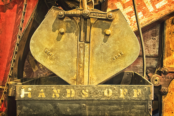 Detail of Old Farm Machine