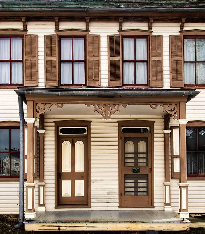 Late 1800s House, Landis Valley, Pennsylvania USA