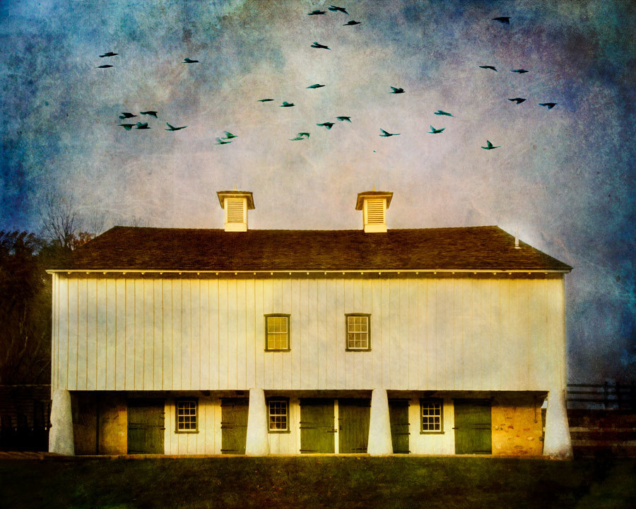 White Barn, Valley Forge