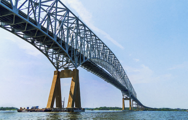 Key Bridge, Chesapeake Bay, Maryland