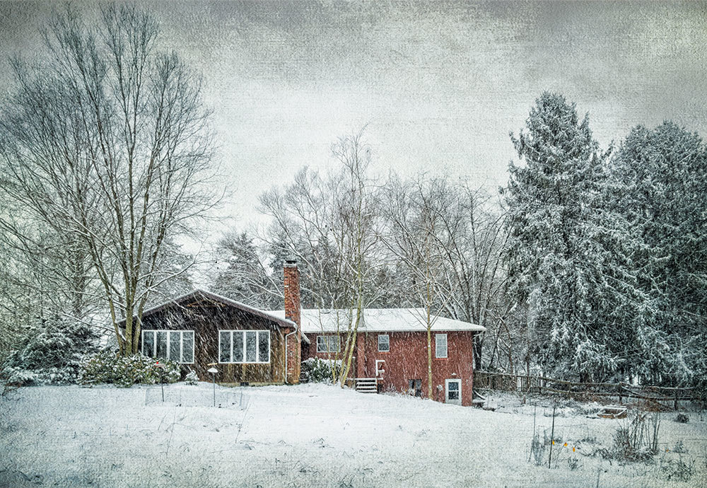 Our House in January