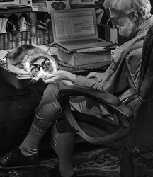 Ginny Helping David Work