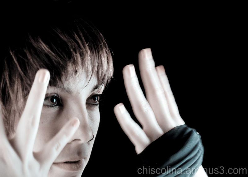 A través de sus manos.... la mirada