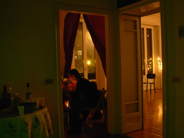 the big room in my house in Milan