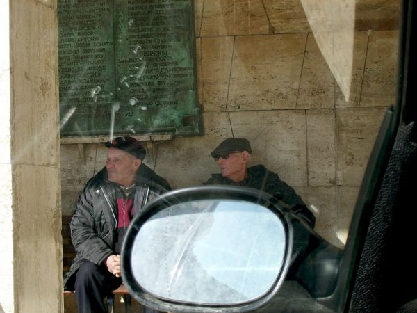 Elderly people in Southern Italy (Basilicata)