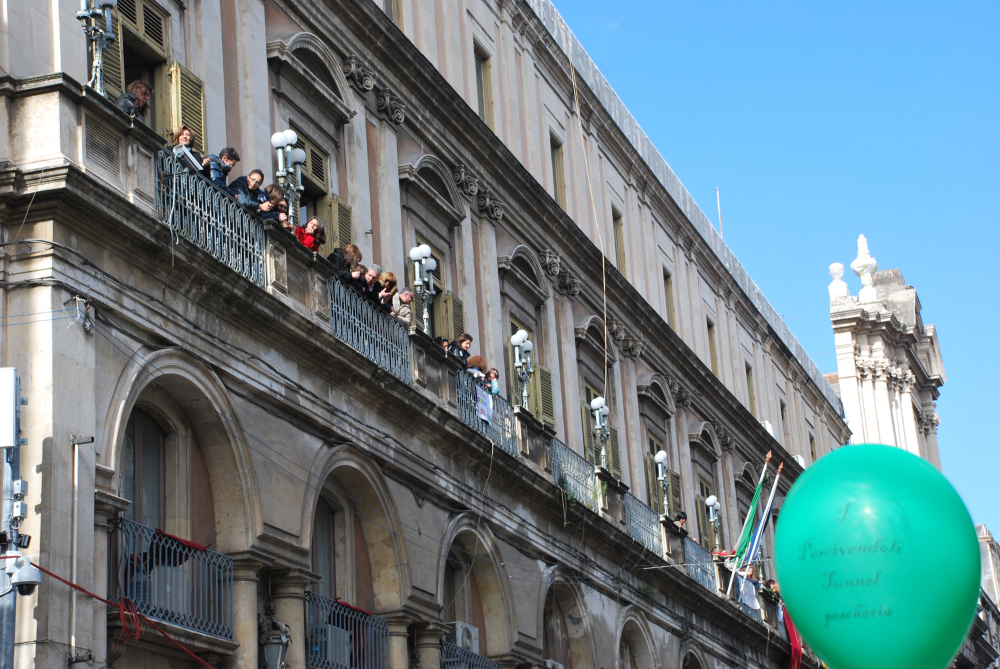 Moment of the festivities for S.Agata in Catania