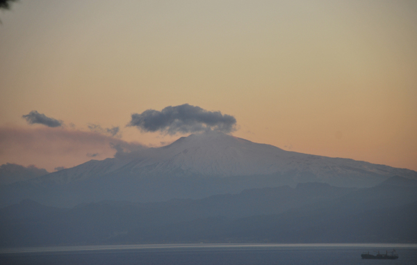 Volcano Etna as pictured last year [2012]