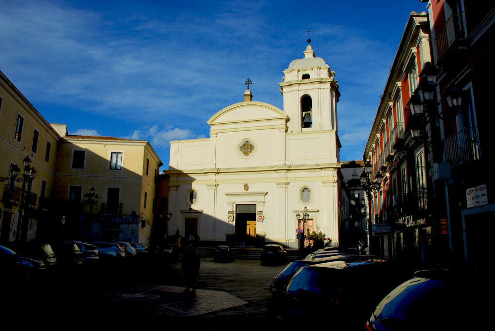 This is the main church of Crotone, Italy