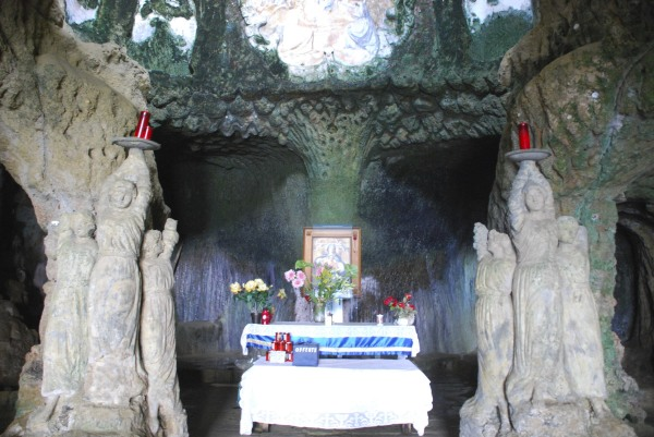A church in the cave, Pizzo Calabro (VV), Italy
