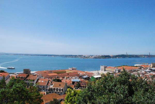 A beautiful panorama from Lisboa