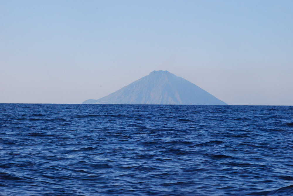 Vulcano one of the Eolie islands in southern Italy