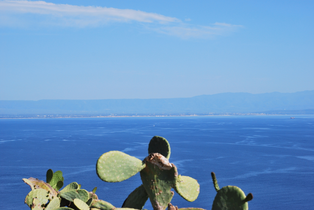 A view of a summer day from Calabria