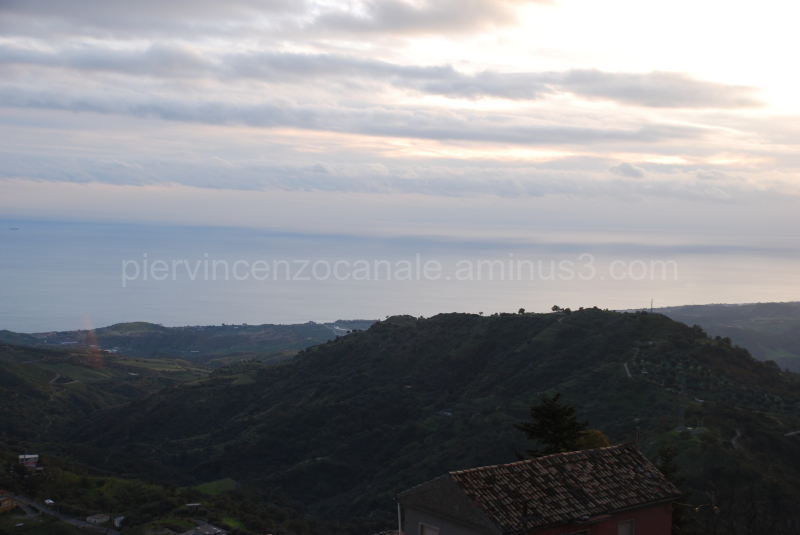A view from Bova at the southern tip of Italy