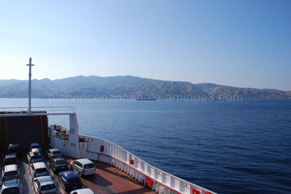 Strait of Messina, Italy.