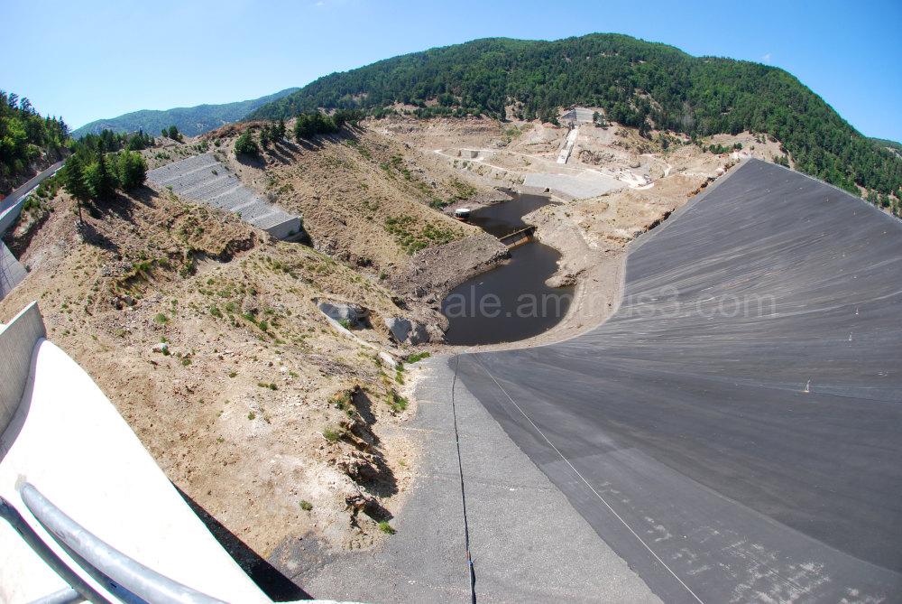 The dam of Menta in Aspromonte, Italy, Europe.