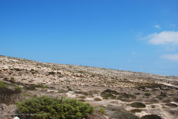 This is the island of Lampedusa.