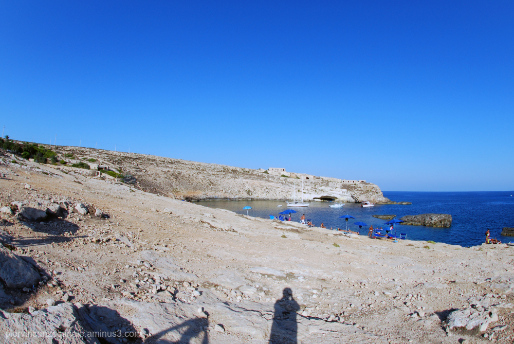 Landscape view from Lampedusa, Italy.