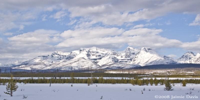 Mountains of Glacier National Park