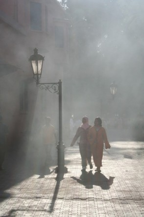 Mist in Morocco