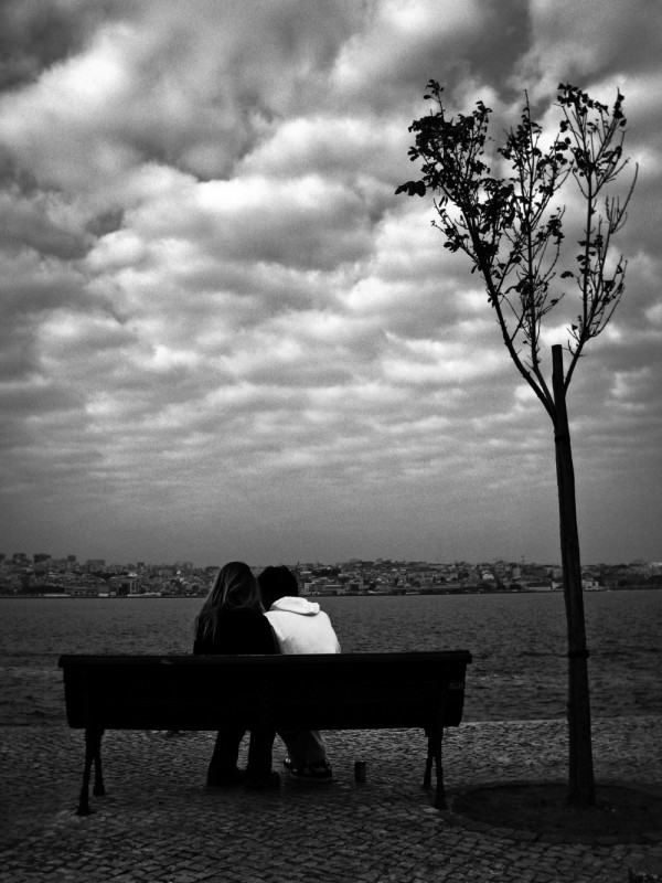 Couple and Tree