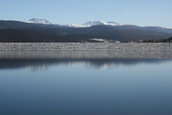 Grandby lake Rocky mountains