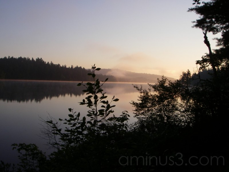 Early Morning on Rainbow Lake