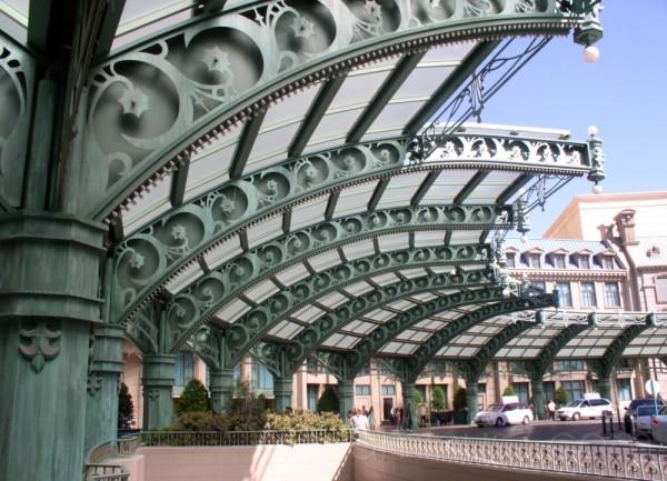 Paris Hotel awning