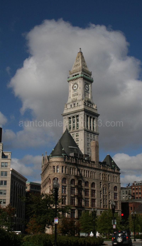 Boston Custom House Tower