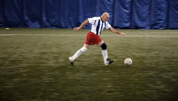 soccer running