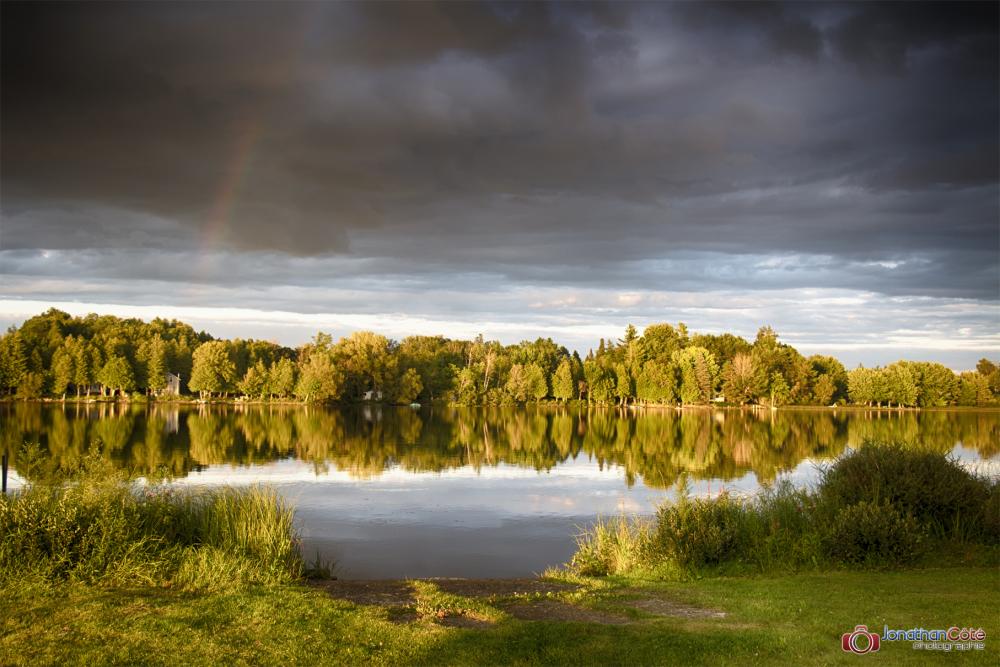 Lac Miroir, Bishopton