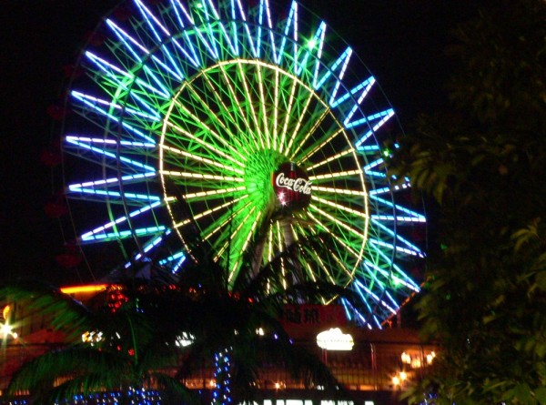 Another Picture of the Ferris Wheel in Okinawa
