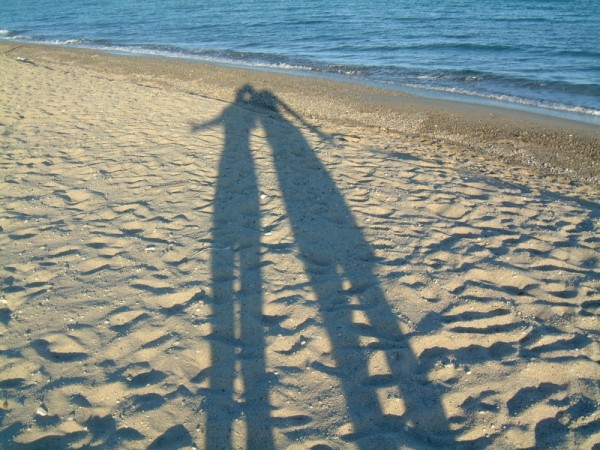Ombre spiaggia