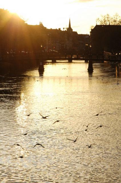 Coucher de Soleil à Strasbourg