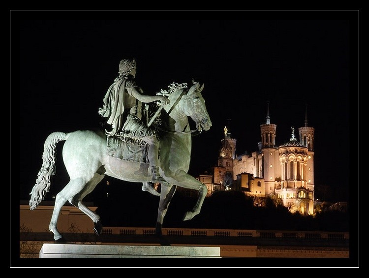 Louis XIV et Fourvière