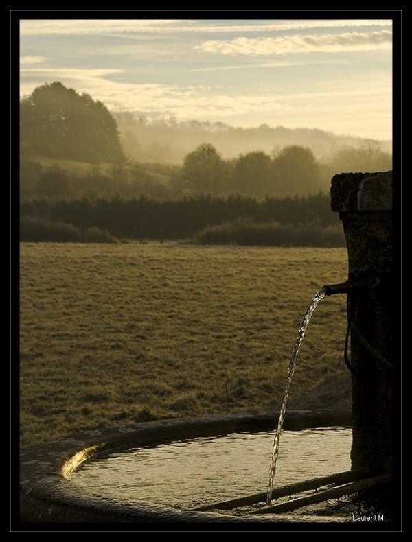 fontaine à optevoz l'isle crémieu