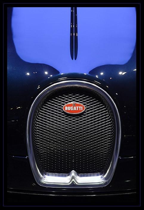 calandre de Bugatti Veyron