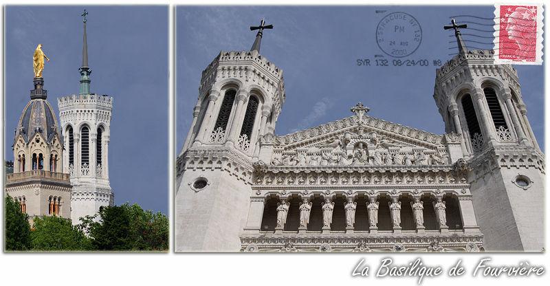 la basilique de Fourvière à Lyon