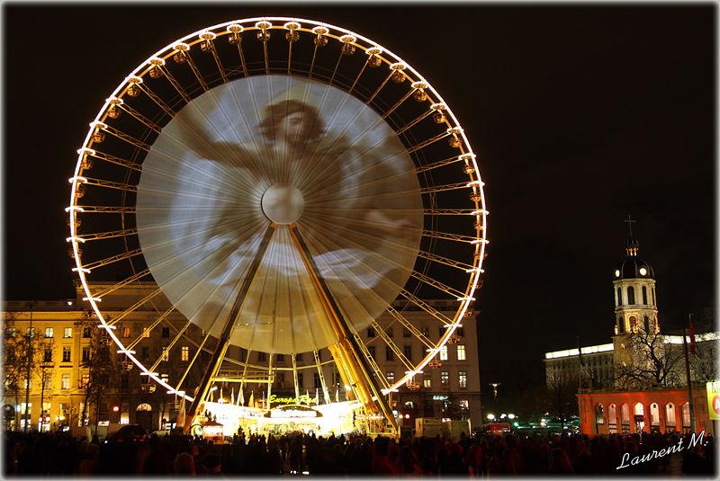 fête des lumières le 8 décembre à Lyon