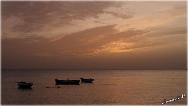 lever de soleil à Zarzis Tunisie