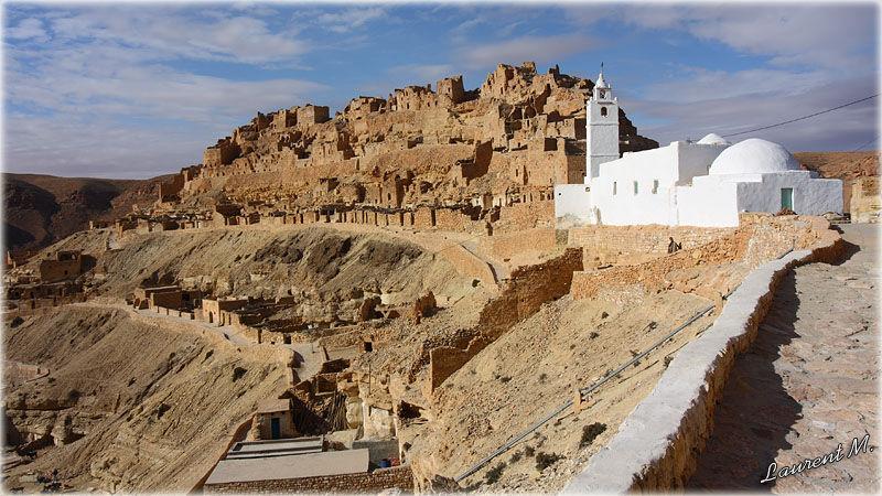 Chenini en Tunisie