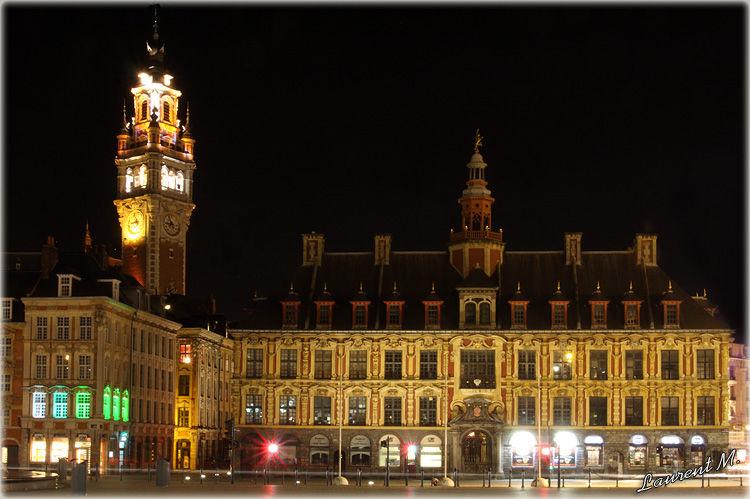 La vieille bourse à Lille