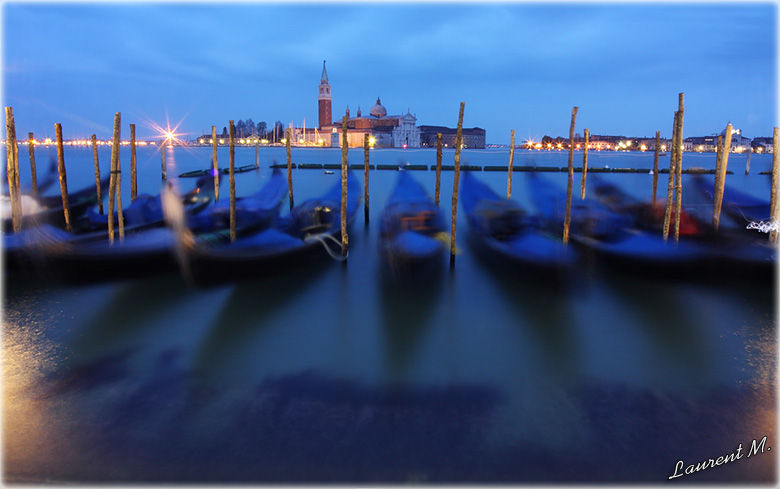 The postcard of Venise