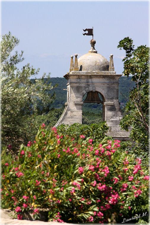 campanile de Grignan en drôme provençale