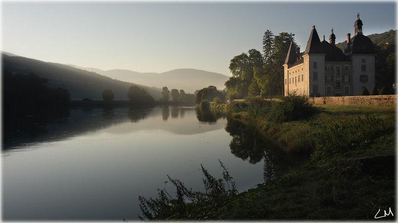le chateau de Vertrieu, l'isle crémieu, rhone