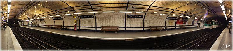 Station de métro Concorde
